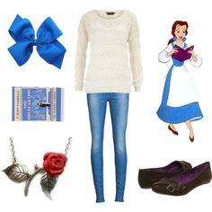Casual Princesses - Belle disney princess inspired fashion ...