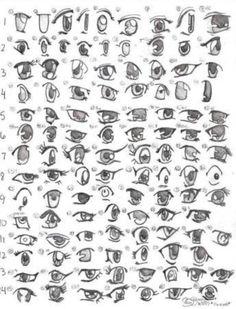 Manga/anime Augen <3