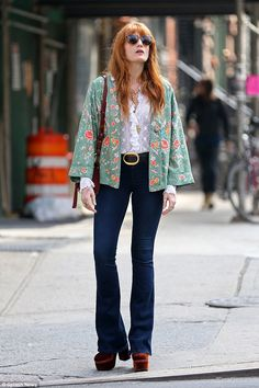 Florence Welch wears the MiH Jeans Skinny Marrakesh