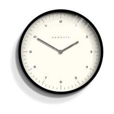 Newgate Clocks Mr Turner Wall Clock Matte Black - Trouva