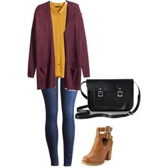A fashion look from January 2015 featuring H&M cardigans, H&M blouses and Joules jeans. Browse and shop related looks.