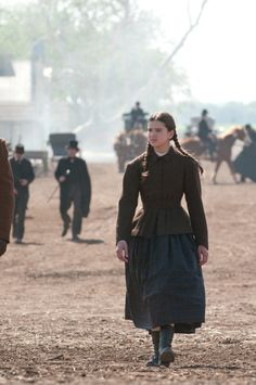 "It was Mattie (Hailee Steinfeld) who had the fearlessness and iron will-the ""true grit"" to get the job done in the Coen Bros. perfect version of ""True Grit"" (2010)"