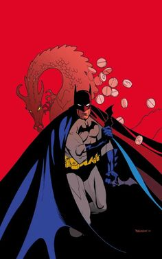 Detective Comics #769 cover by Andrew Robinson