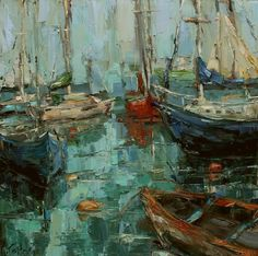 New England Harbor ~ Kathryn Trotter