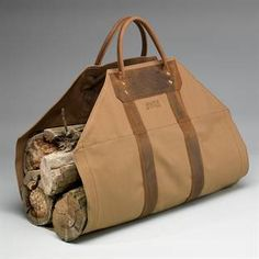 firewood carrier - could have used this 15 years ago