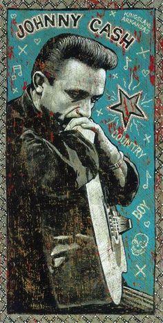 Johnny Cash Art