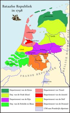 Departments of the Batavian Republic