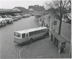 Centraal station Groningen 1970