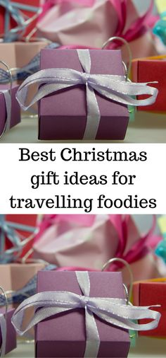 Looking for a gift for that hard to buy travelling foodie.  Here's some great suggestions, and they can all be bought online!