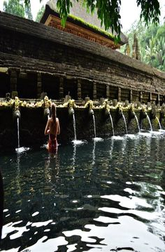 Complete guide to the holy spring water temple – Pura Tirta Empul, Bali. Group Travel, Travel And Tourism, Asia Travel, Water Temple, Responsible Travel, Bucket List Destinations, Spring Water, Once In A Lifetime, Travel Memories