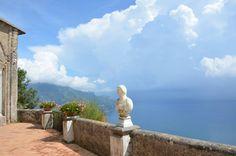 Villa Cimbrone garden, Ravello Italy #travel #italy