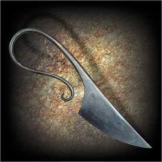 Scandinavian forged knife. Simply beautiful!