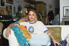 An Inside Look at Jemima Kirke's Brooklyn Art Studio | MyDomaine