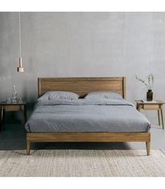 Boho Bed Frame, Vintage Bed Frame, Diy Bed Frame, Vintage Beds, Simple Bed Frame, Vintage Bedding, Bedding Master Bedroom, Home Decor Bedroom, Bedroom Furniture