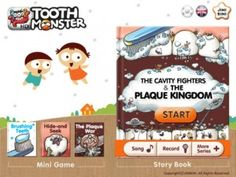 Tooth Monster HD Pro - This app is easily one of the best ways that we know to educate your children about proper tooth brushing habits, as well as one of the most fun around. It comes jam-packed with quality artwork and quality factoids, making it a tremendous value on the iPad.