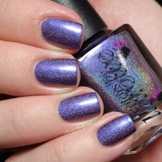 Brand: Colors by Llarowe // Collection: New Year, New CbL Collection (2015)  //  Color: Blown Away // Blog: Sassy Shelly