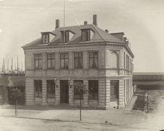 Sundby Apotek, Amagerbrogade 23, ca. 1888. Foto Københavns Museum.