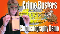 Science Olympiad Crime Busters- Chromatography demo
