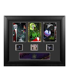 Loving this Nightmare Before Christmas Santa Jack Framed FilmCells™ Wall Art on #zulily! #zulilyfinds