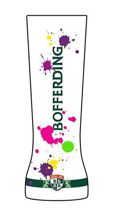 Création d'un verre #Bofferding par Tessy, concours BArtist.