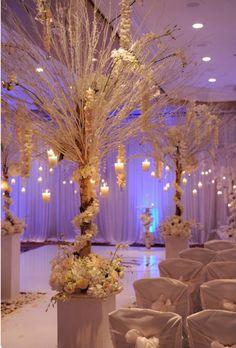 Romantic Indoor Wedding