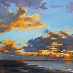 """Sky"" - Original Fine Art for Sale - © Ken Devine"