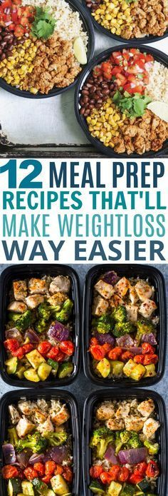 These 12 Weightloss Meal Prep Ideas Look So YUMMY!