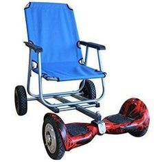 General Sale-Sitting Attachment for Hoverboard, Hoverboard Cart Attachment (Blue) Electric Scooter With Seat, Electric Go Kart, Electric Bicycle, Go Kart Wheels, Scooters For Sale, Apex Scooters, Mobility Scooters, New Inventions, Pedal Cars