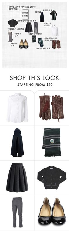 """""""Hogwarts Packing List: Uniform"""" by piperford on Polyvore featuring Dsquared2, Want Les Essentiels de la Vie, Chicwish, CO, Royal Robbins, Cole Haan and Smartwool"""