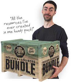 Free design resources bundle