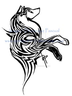 norse wolf tattoo - Google Search