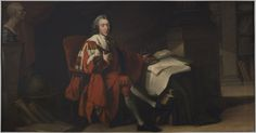"""(William's father) """"Portrait of William Pitt, Earl of Chatham"""" by Richard Brompton (1772) at the Philadelphia Museum of Art, Philadelphia - From the curators' comments: """"As a member of the British parliament from 1735 to 1761 and prime minister from 1766 to 1768, William Pitt the Elder advocated for an amiable relationship between Great Britain and the colonies, opposing the Stamp Act and military action in America."""""""