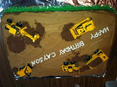 Construction  cake :)