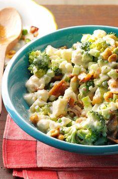 Veggie Chopped Salad Recipe from Taste of Home