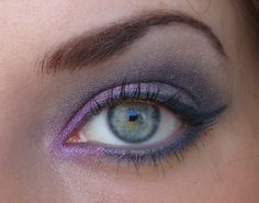 purples are great for just about all eye colors. Especially great for green eyes!