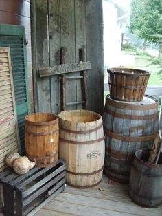 Wooden Primitives!