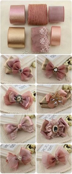 23 Best Ideas For Hair Accessories Diy Fabric - Beauty / Hair Ideas - . 23 Best Ideas For Hair Accessories Diy Fabric – Beauty / Hair Ideas – Ribbon Art, Diy Ribbon, Ribbon Crafts, Ribbon Bows, Ribbons, Ribbon Flower, Diy Flowers, Fabric Flowers, Flower Diy