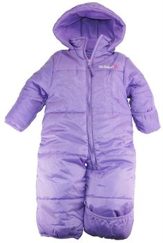infant girl snowsuits lilac