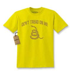 - A Don't Tread On Me T-shirt to symbolize the rich history of the Gadsden Flag…