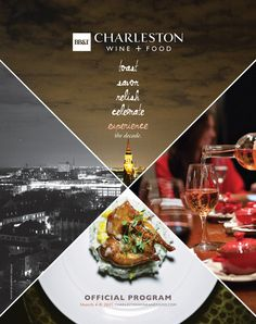 CHARLESTON MAGAZINE - Charleston Wine and Food Festival 2015 program