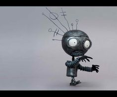 Tim Burton robot promo for Museum of Modern Art (MoMA) Exhibition at TIFF in Toronto.