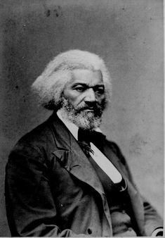 Frederick Douglass, anti-slavery campaigner who influenced President Lincoln