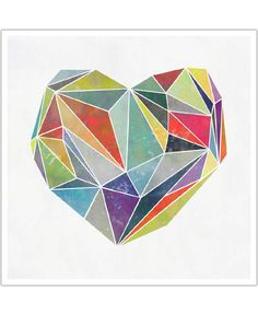 Heart Graphic 5 VON Mareike Böhmer now on JUNIQE!