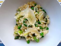 Spring Risotto of As