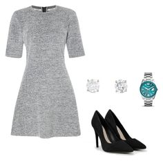 """""""Outfit #1 RNGM"""" by nudul on Polyvore featuring moda, Calvin Klein, FOSSIL y CHARLES & KEITH"""