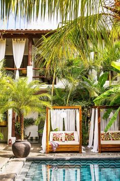 15 Tropical Resorts to Beat Your Winter Blues  Tribal Hotel, Nicaragua