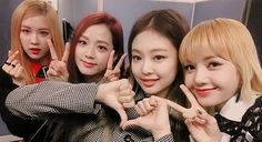 BLΛƆKPIИK the beauties in this group are no joke. YG shouldn't have worried about them. They cute, talented and 4D. The perfect combo for this industry