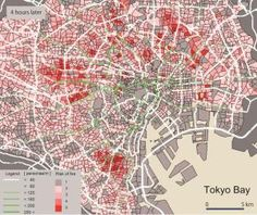 Models for evacuation procedures in big cities after massive earthquakes
