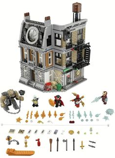 Lego Avengers: Infinity War Sets (Potential Spoilers)