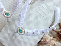 Items similar to I do bride flip flops with crystals/pearls gift for her. Outdoor Fall/Beach wedding shoes, Bridal sandals, Bride honeymoon gift on Etsy White Brazilian, Small Bridal Parties, Wedding Flip Flops, Beach Wedding Shoes, Honeymoon Gifts, Bridal Sandals, Beach Flip Flops, Flip Flop Shoes